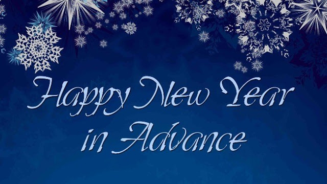 Advance Happy New Year Wallpaper