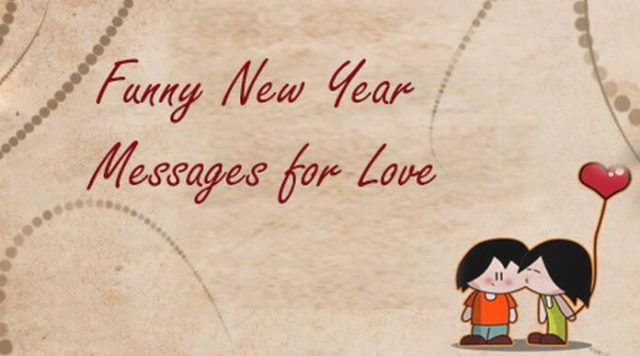 Funny New Year Messages for Lover