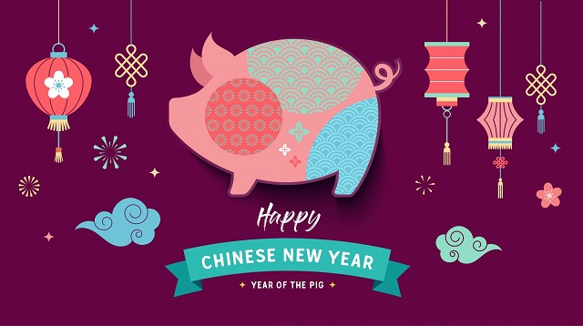 Chinese New Year 2020 Pig Images