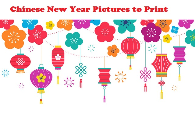 Chinese New Year Pictures to Print