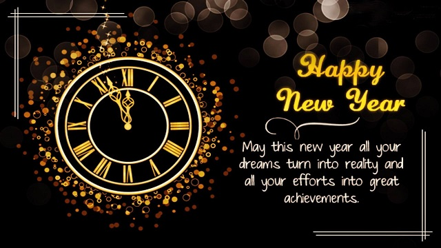 Advance New Year Greetings Images