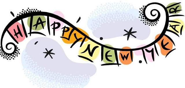 Happy New Year Clip Art 2020