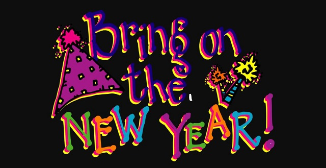 Happy New Year Funny Clipart