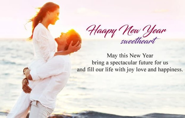 Happy New Year Wishes for Loved One