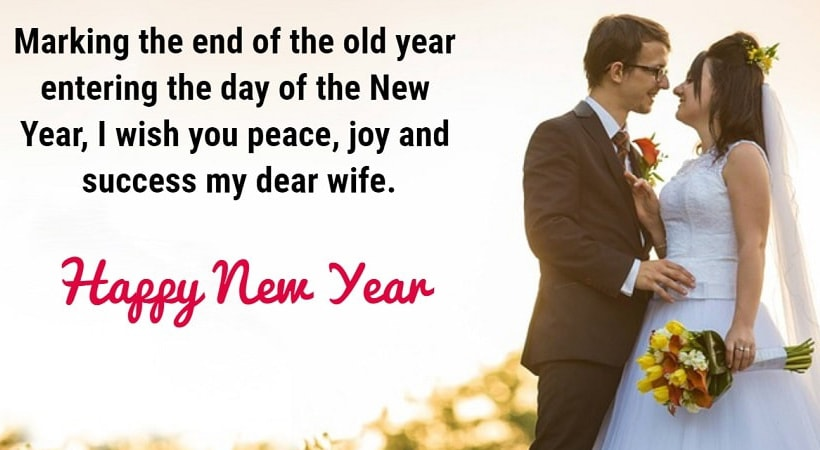 Romantic Happy New Year Wishes For Wife