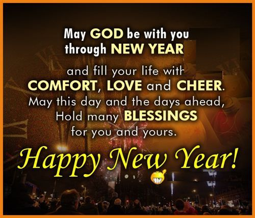 Happy New Year Blessings Images